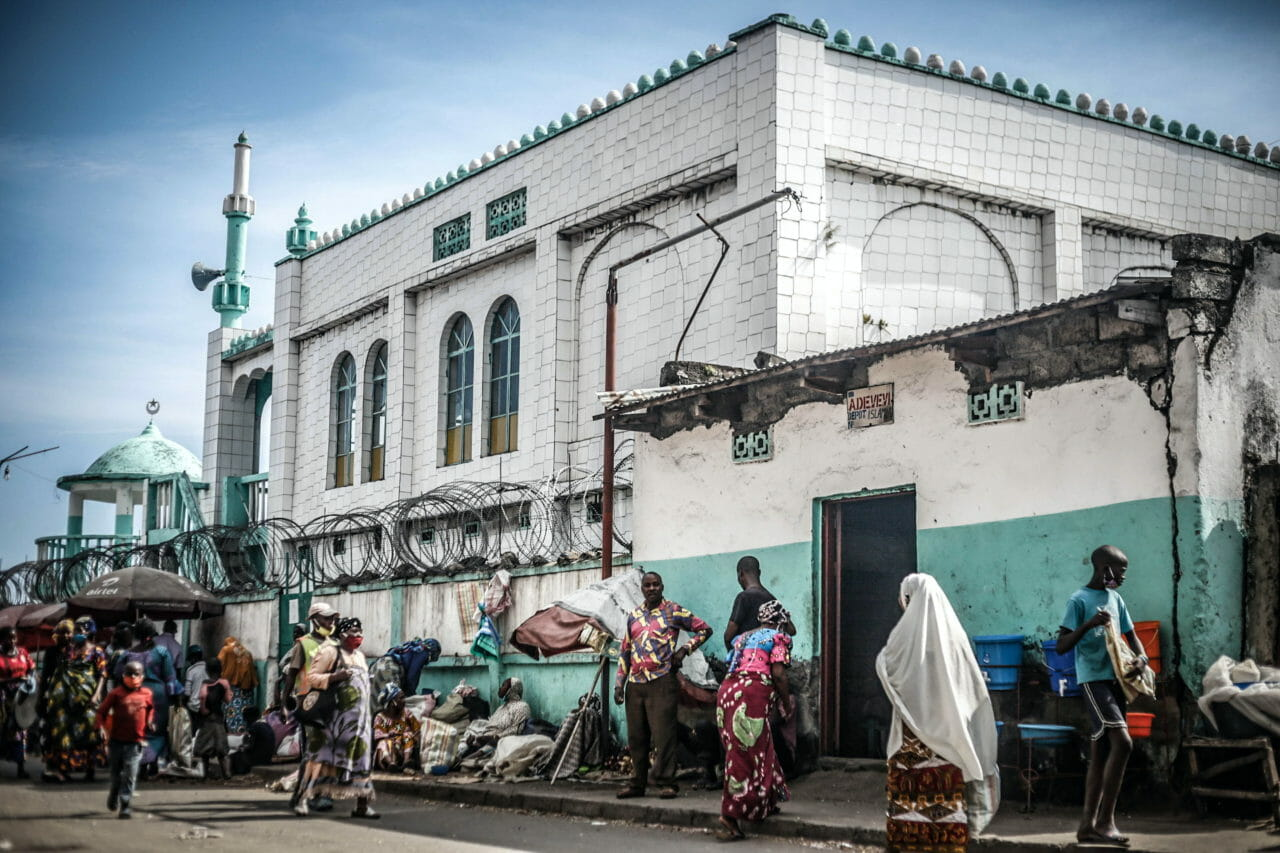 Goma, DRC, 2020. With religious centres, including the Birere mosque, closed under Congo's coronavirus lockdown, members of the muslim community in the eastern Congolese city of Goma passed the holy month of Ramadan at home. © Ley Uwera for Fondation Carmignac